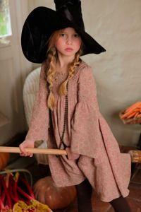 I Love Gorgeous girls smock printed dress for Halloween 2010 #halloween