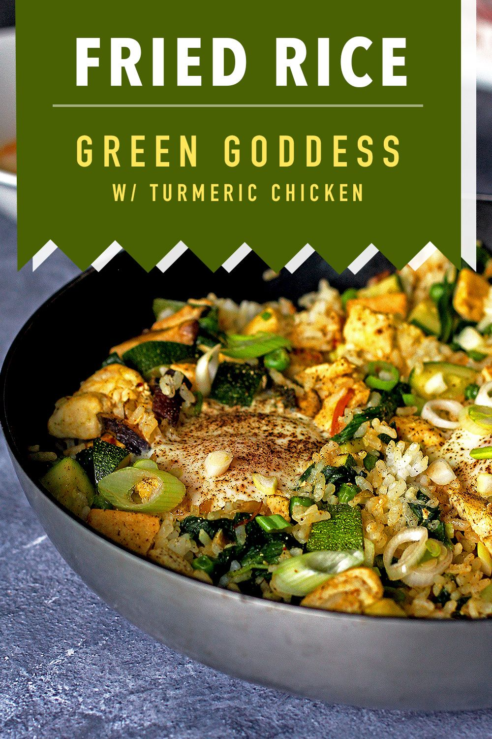 green goddess fried rice  who noms the world  recipe in