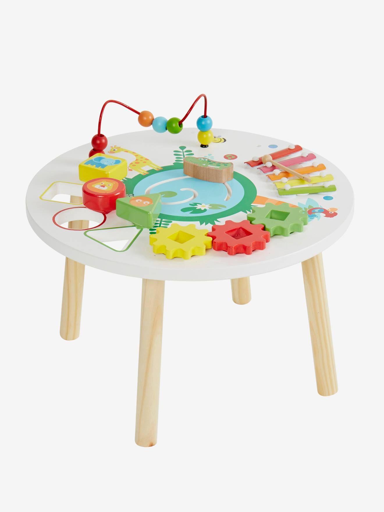 Table D Activites Savane Multicolore Toute Une Ronde De Jeux Amusants Et Educatifs Inspires De La Savane Pour Les P Table D Activite Jouet Idee Cadeau Enfant