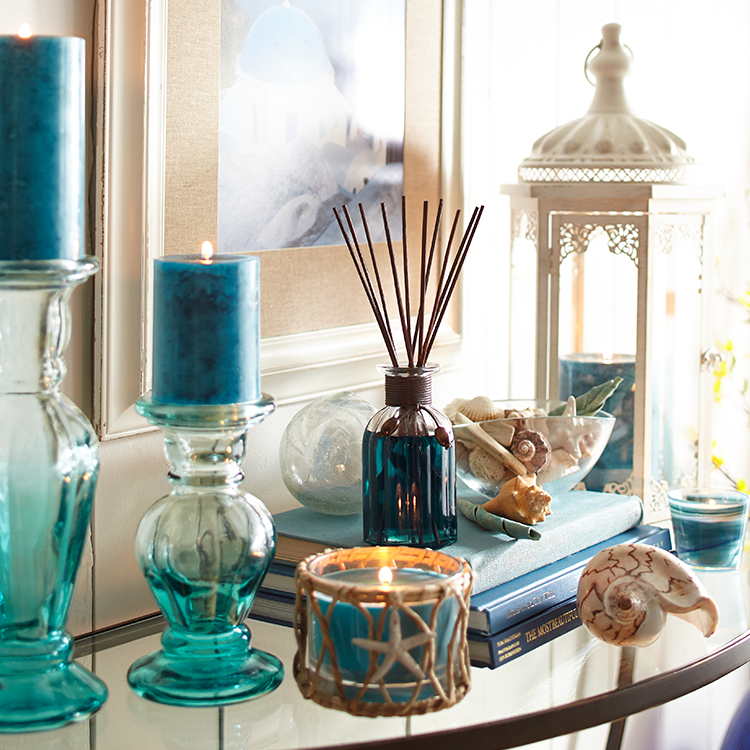 """Love the """"Oceans"""" scent by Pier 1 Imports. Smells soooo good. Nice n fresh"""