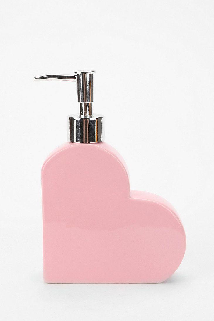 Heart Soap Dispenser | ella | Pinterest