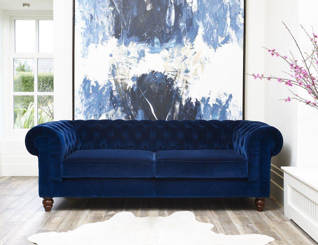 Cool Blue Chesterfield Sofa Fantastic Blue Chesterfield Sofa 34 On Sofa Room Ideas With Blue Chesterfield So Wooden Living Room Furniture Velvet Sofa Uk Sofa