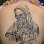 Imagenes De La Santa Muerte Tatuajes 27 Santa Muerte Tatuajes