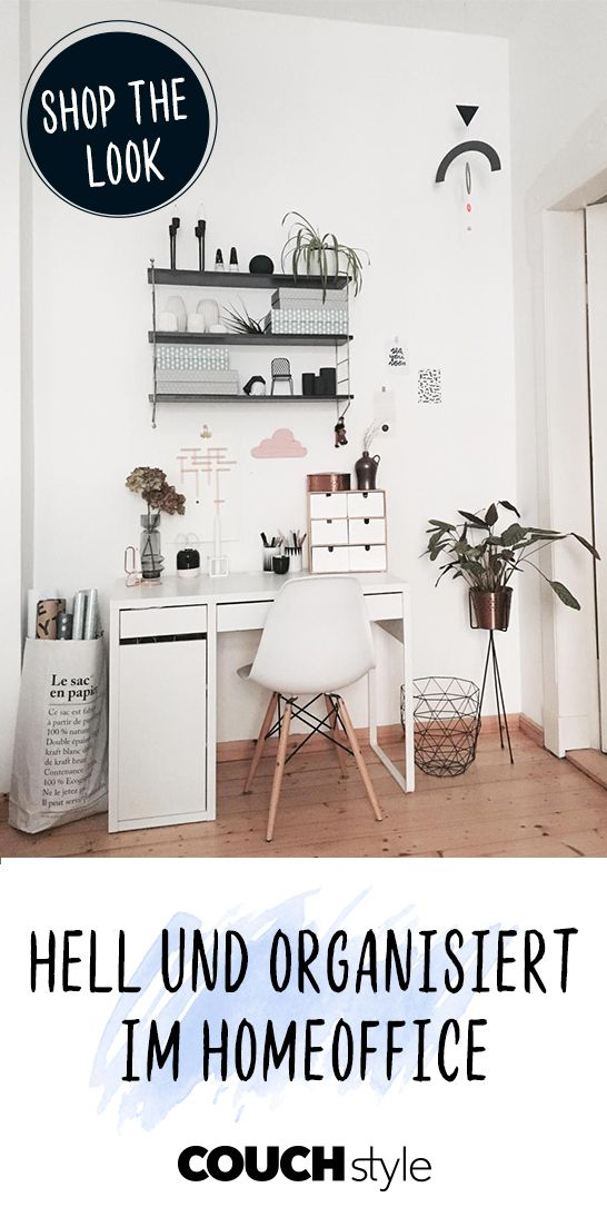 Photo of Bright and organized home office: this is how marylooh does it