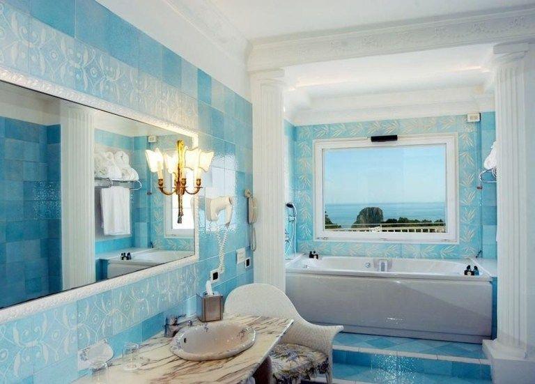 20 charming bathroom décor ideas with blue colors