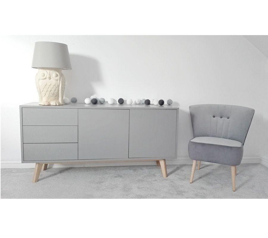 Skandynawska Nowoczesna Komoda S5 1 Szara Meble Skandynawskie Furniture Home House Rooms