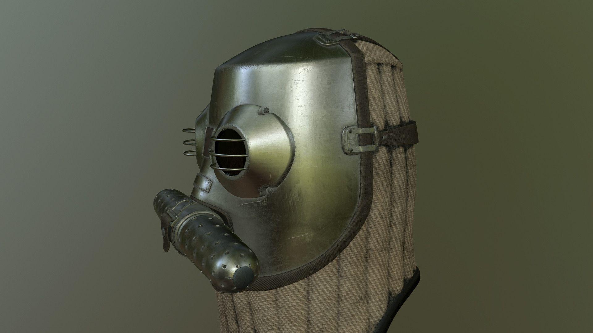 ArtStation - Gas Mask, Alexandre Dupont