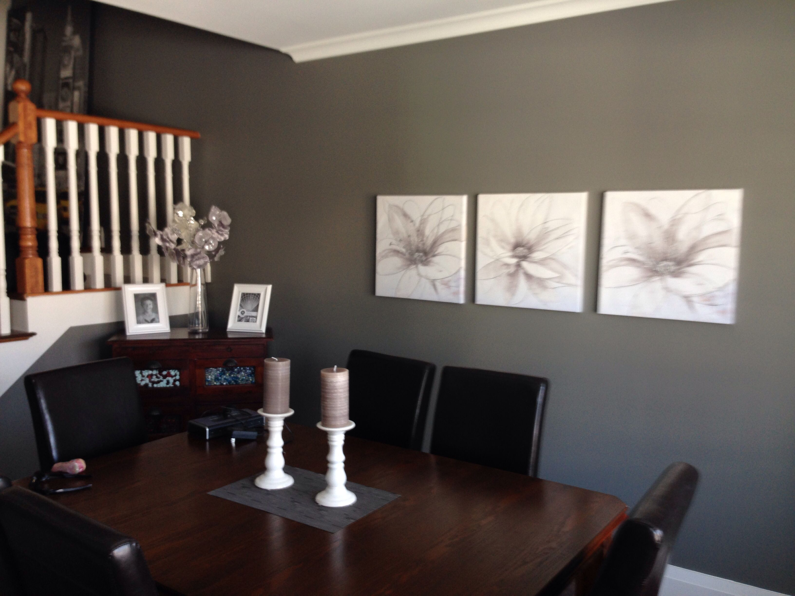 Chelsea Grey With White Trim In Dining Room