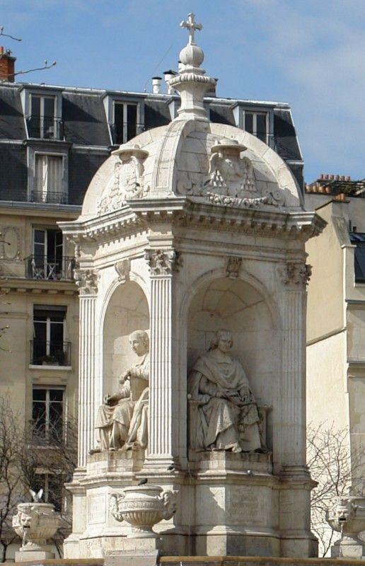 Fontaine Saint Sulpice - rue Bonaparte Park 6e