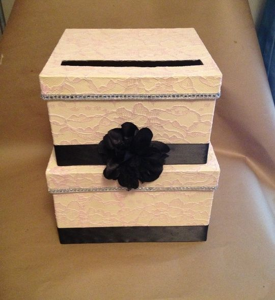 How To Make A Wedding Card Box Recipe Cards Wedding And By