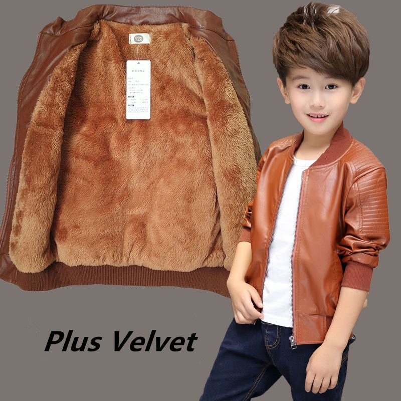 fe89dc853 New Arrived Boys Coats Autumn Winter Fashion Korean Children s Plus ...