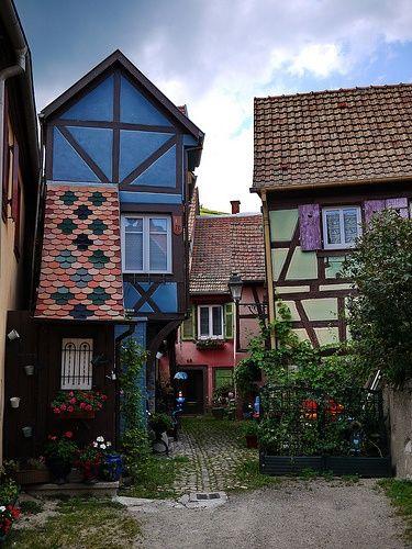 Turkheim France Alsace France Alsace Colorful Places