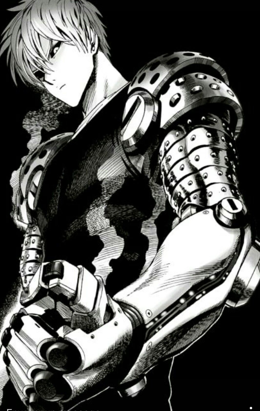 Genos le One punch man, One punch, Manga one