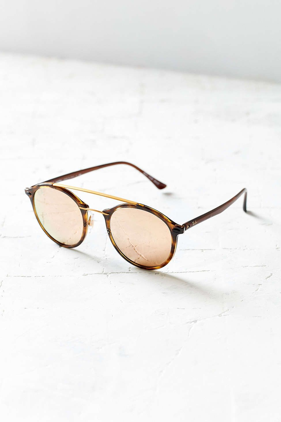 dcaf2b99eed0c Ray-Ban Tech Light Round Aviator Sunglasses