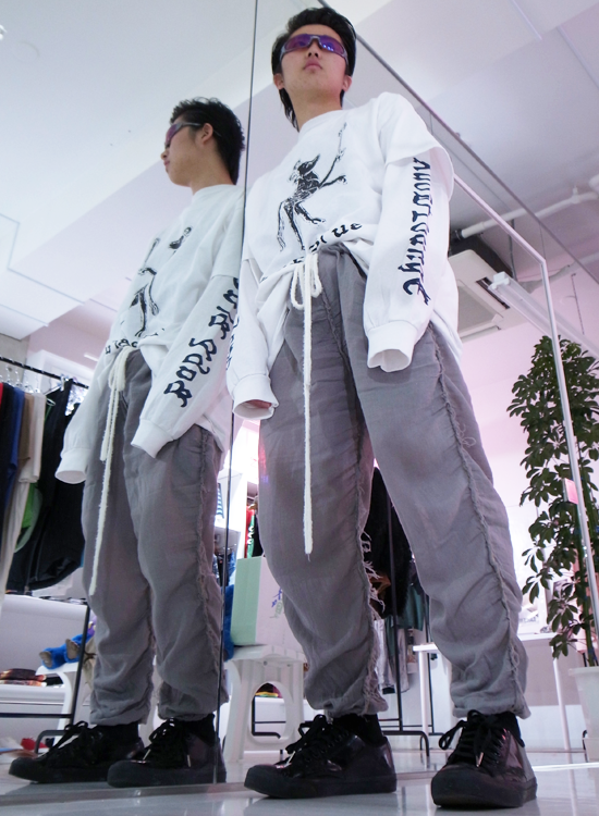 【 YUTA / 170cm 】 #eckhauslatta #henrikvibskov #telfar #telfarclemens #designers #ootd #jp #telfarglobal #babyblue #djwrack #skimmilk #moodnyc #khole #snap #love #danbodan #milesmartinez