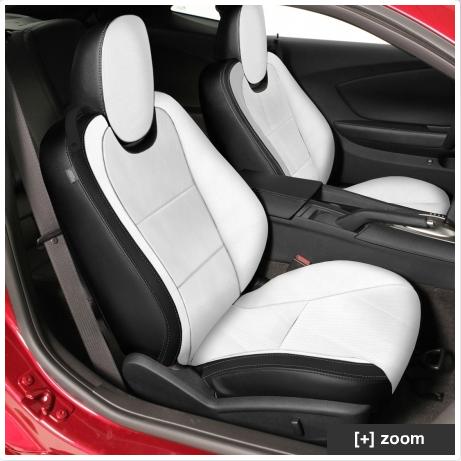 Camaro Leather Seat Kit Pearl White Volkswagen New Beetle