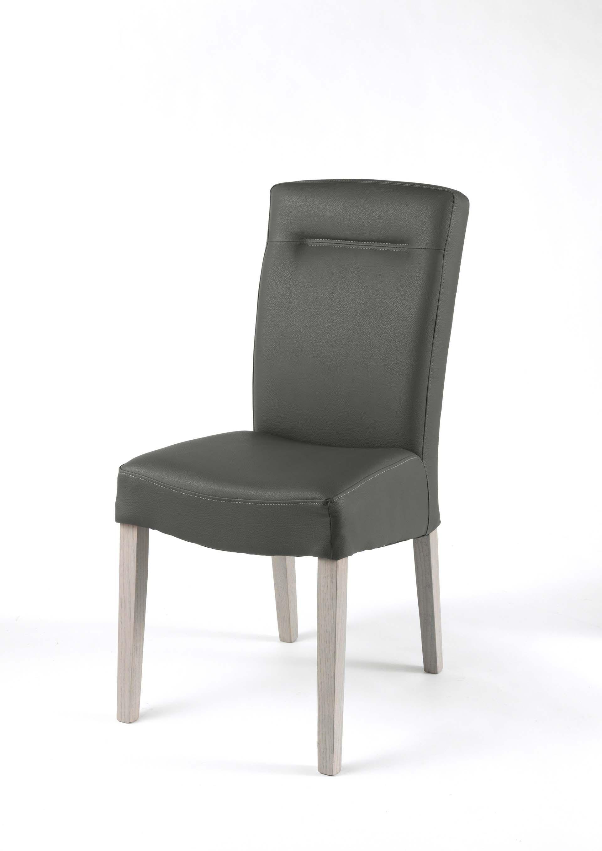 Nathan En Anthracite Confortable Chaise Cuir Simili Coloris 8n0OkPwX