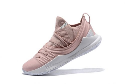 1a31f4040a16 Latest UA Curry 5 Low Flushed Pink White Mens Basketball Shoes ...