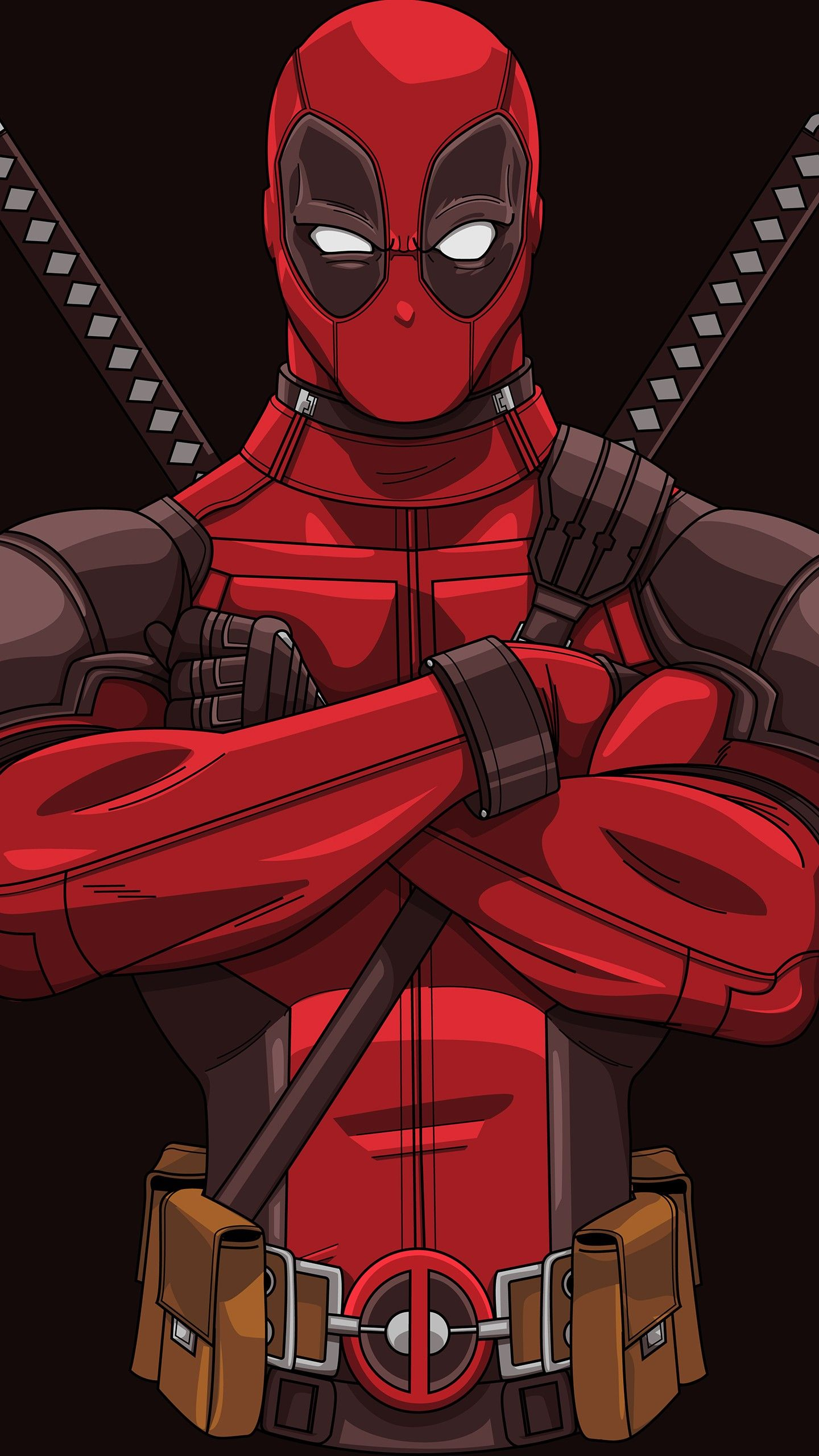 Misc Deadpool Minimal Artwork 4K 8K wallpapers