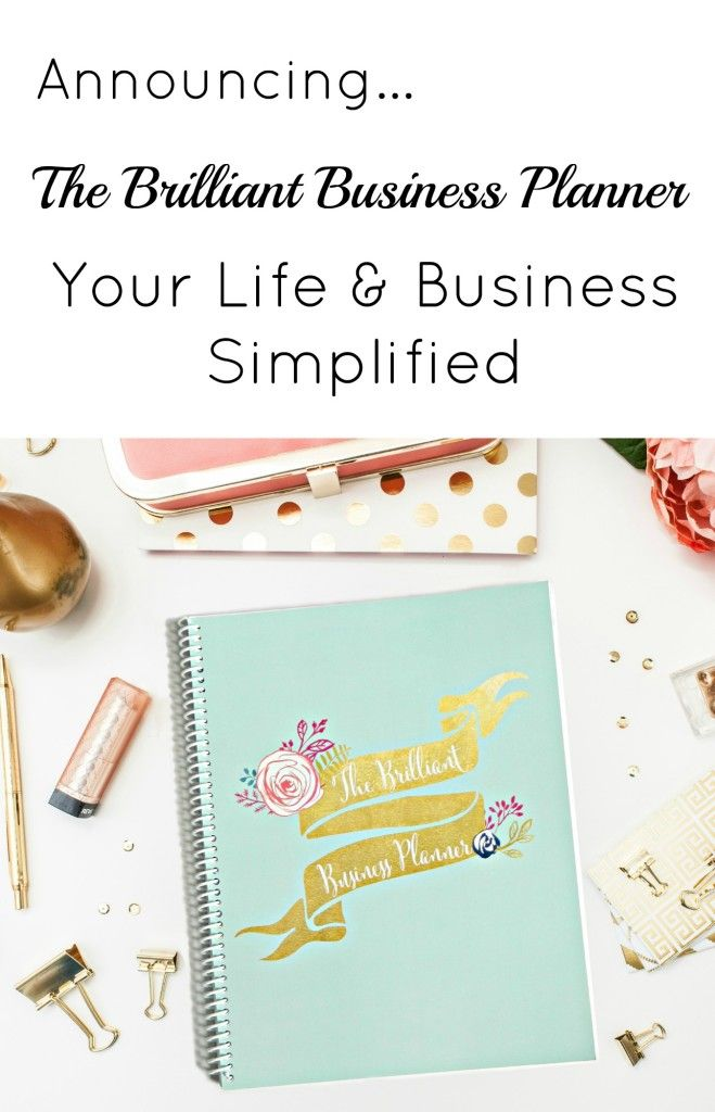 So excited for this!  Finally a planner that fits my needs!  |  brilliantbusinessmoms.com/pinterestaffiliate