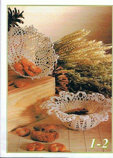 Criatividades em Crochê: Crochê endurecido