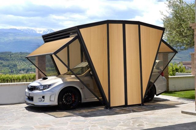 Pin by Lars Hallongren on Car Ports | Car shelter, House