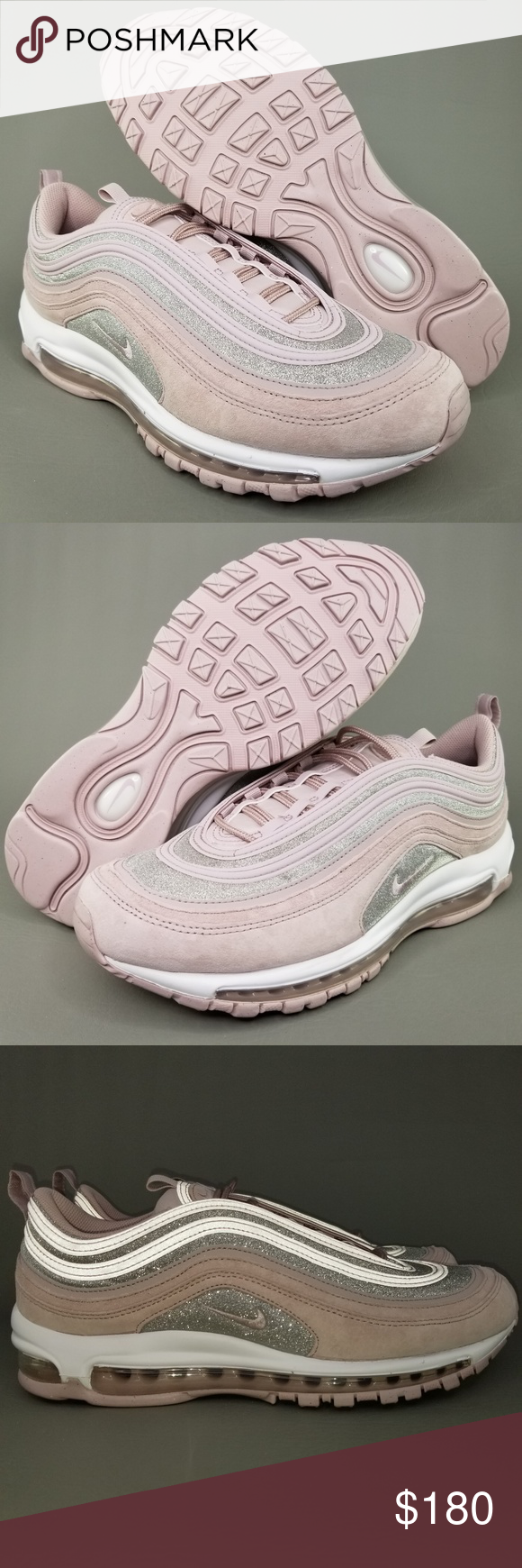Nike Air Max 97 Particle Rose Shoes Womens 12 Pink Nike Air