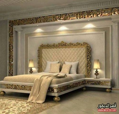 دهانات غرف نوم الوان الحوائط الحديثة Modern Bedroom Paints قصر الديكور Luxurious Bedrooms Rustic Master Bedroom Design Luxury Bedroom Design