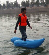 I NEED THESE! Inflatable shoes that let you walk on water | Thats ...
