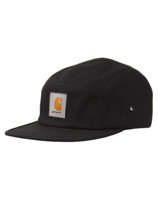 4a1760cb6954c Carhartt Backley 5 Panel Cap - Black