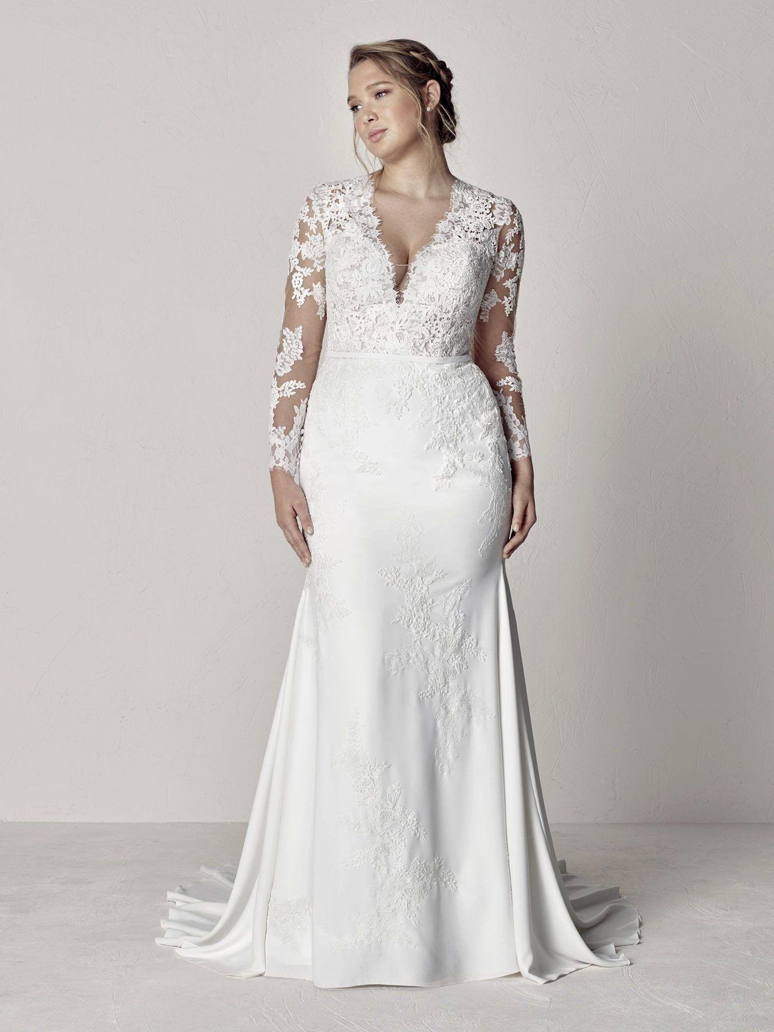 Kleinfeld Plus Size Wedding Dress Inspirational Plus Wedding Dress With Sleeves Vittnerp Plus Wedding Dresses Wedding Dress Long Sleeve Plus Size Wedding Gowns