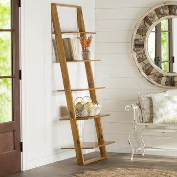 """72"""" Leaning Bookcase"""