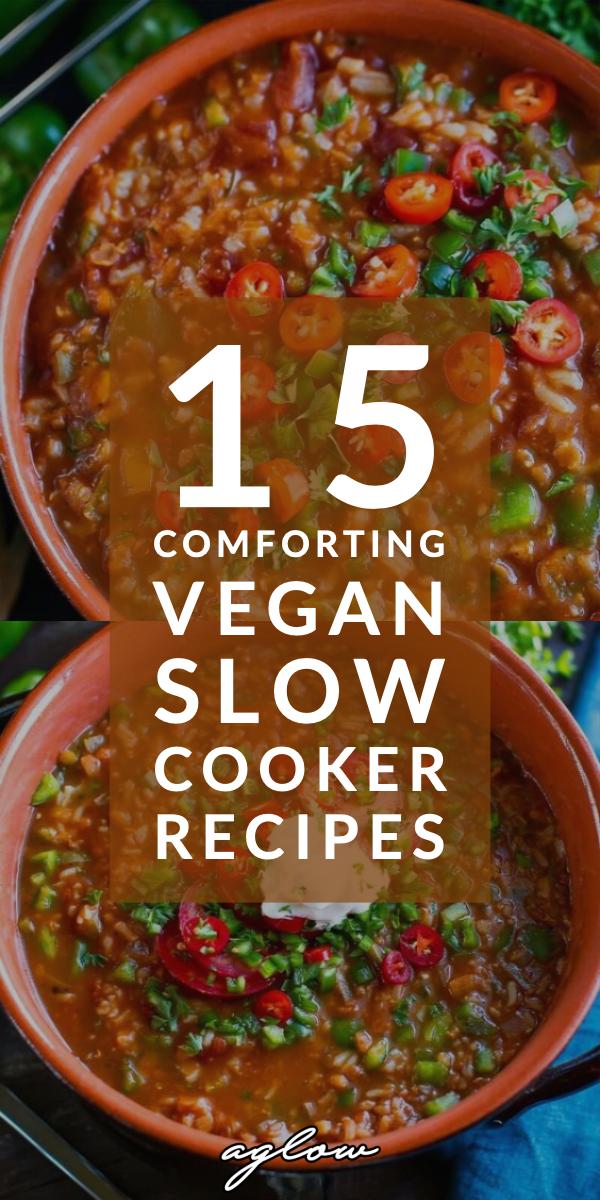 Photo of 15 Comforting Vegan Slow Cooker Recipes