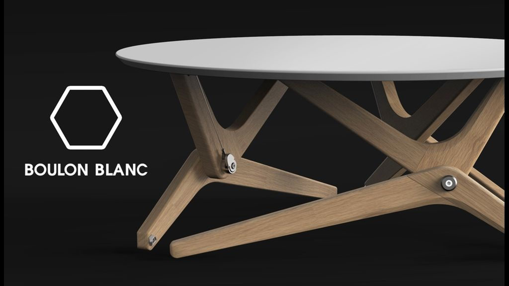 BOULON BLANC The next generation of transformable tables Coffee