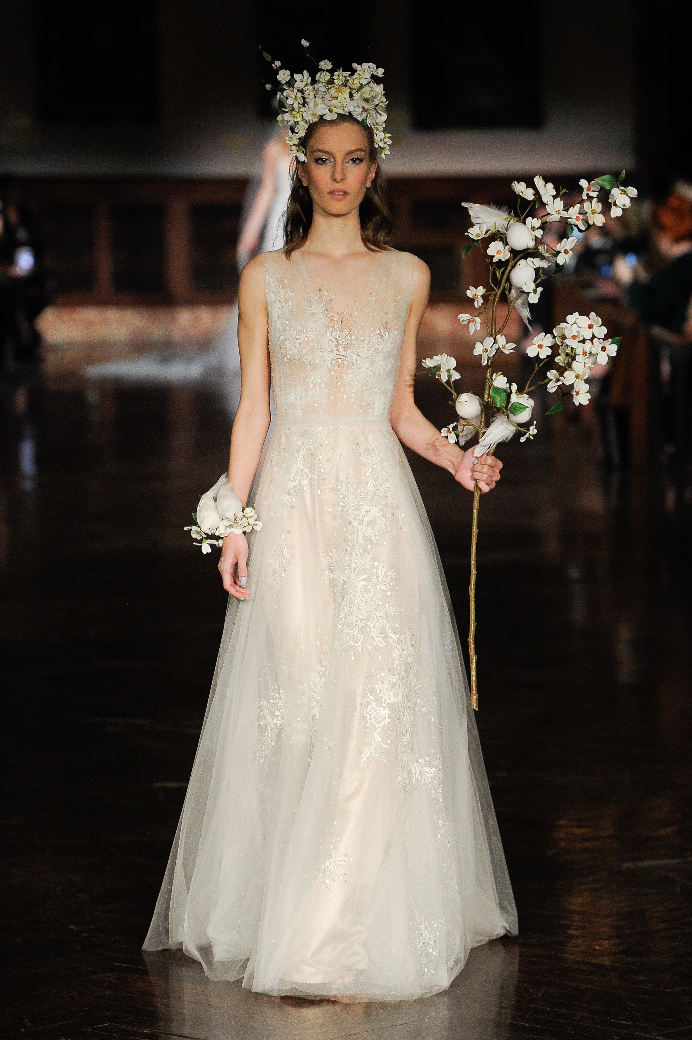 Reem Acra - Bridal Spring 2019 Look 12