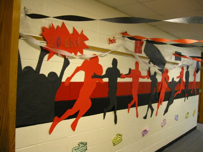 Football Hallway Decoration Google Search Homecoming