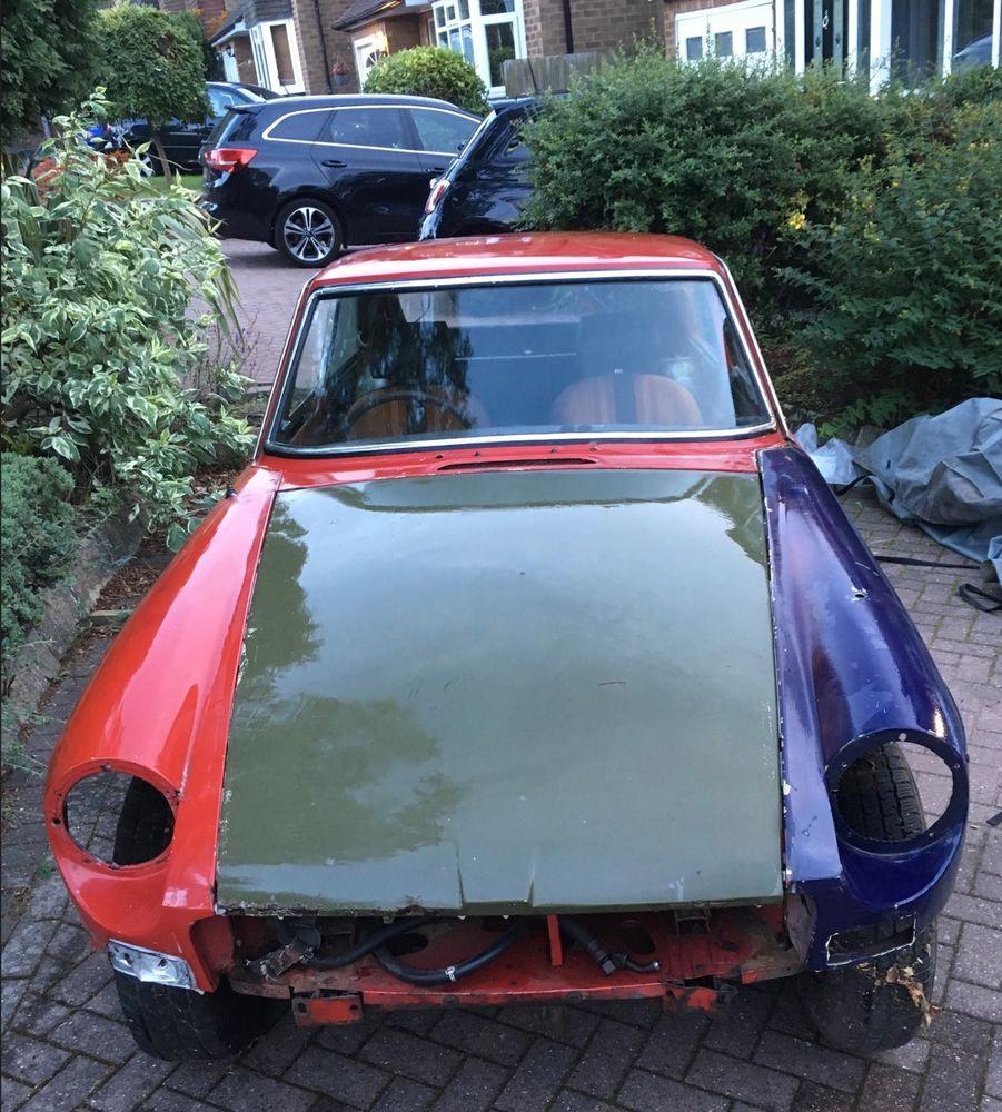 1978 MGB GT restoration project Restoration, Projects, Ebay