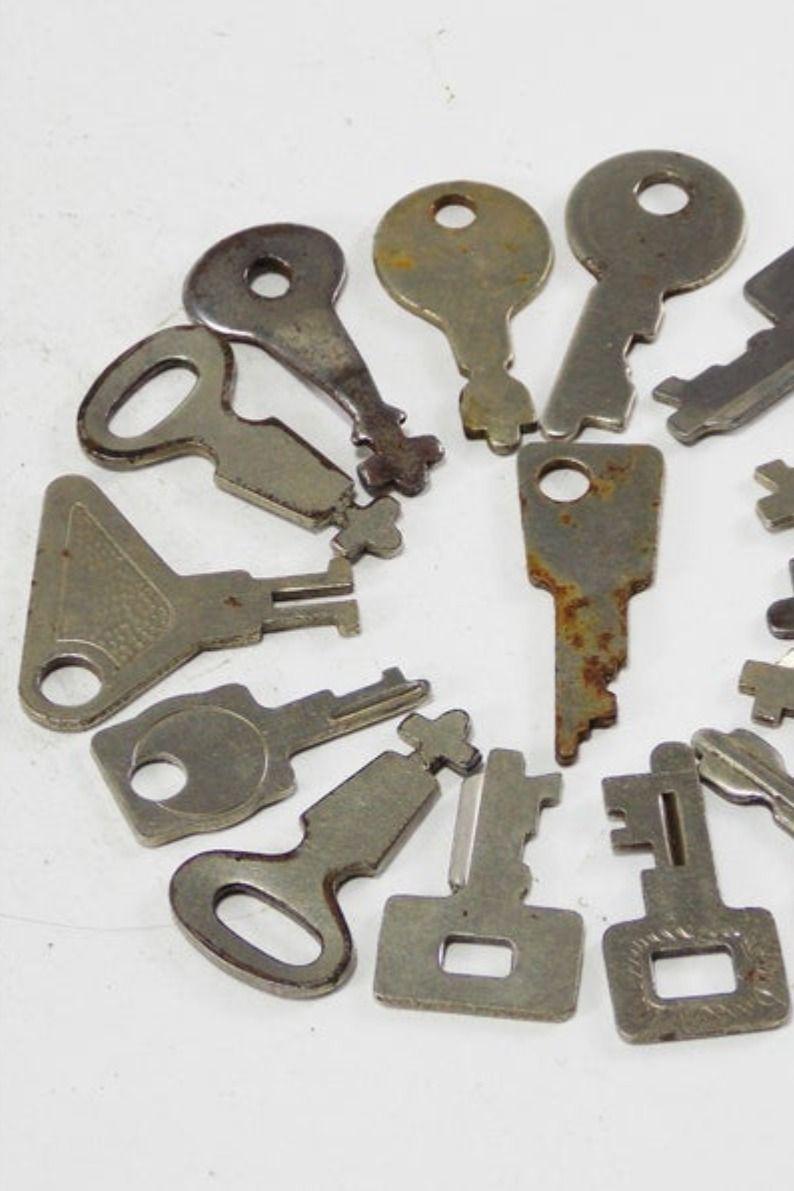 Pin On Vintage Keys And Locks