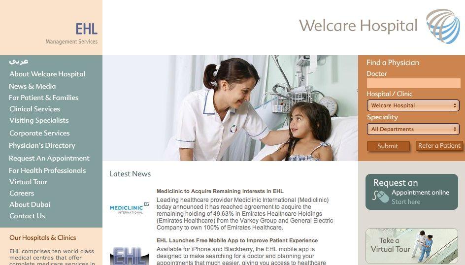 Welcare Hospital Hospital doctor