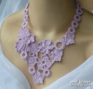 d5e724bd66d7 Collares de moda tejidos a crochet (14) …