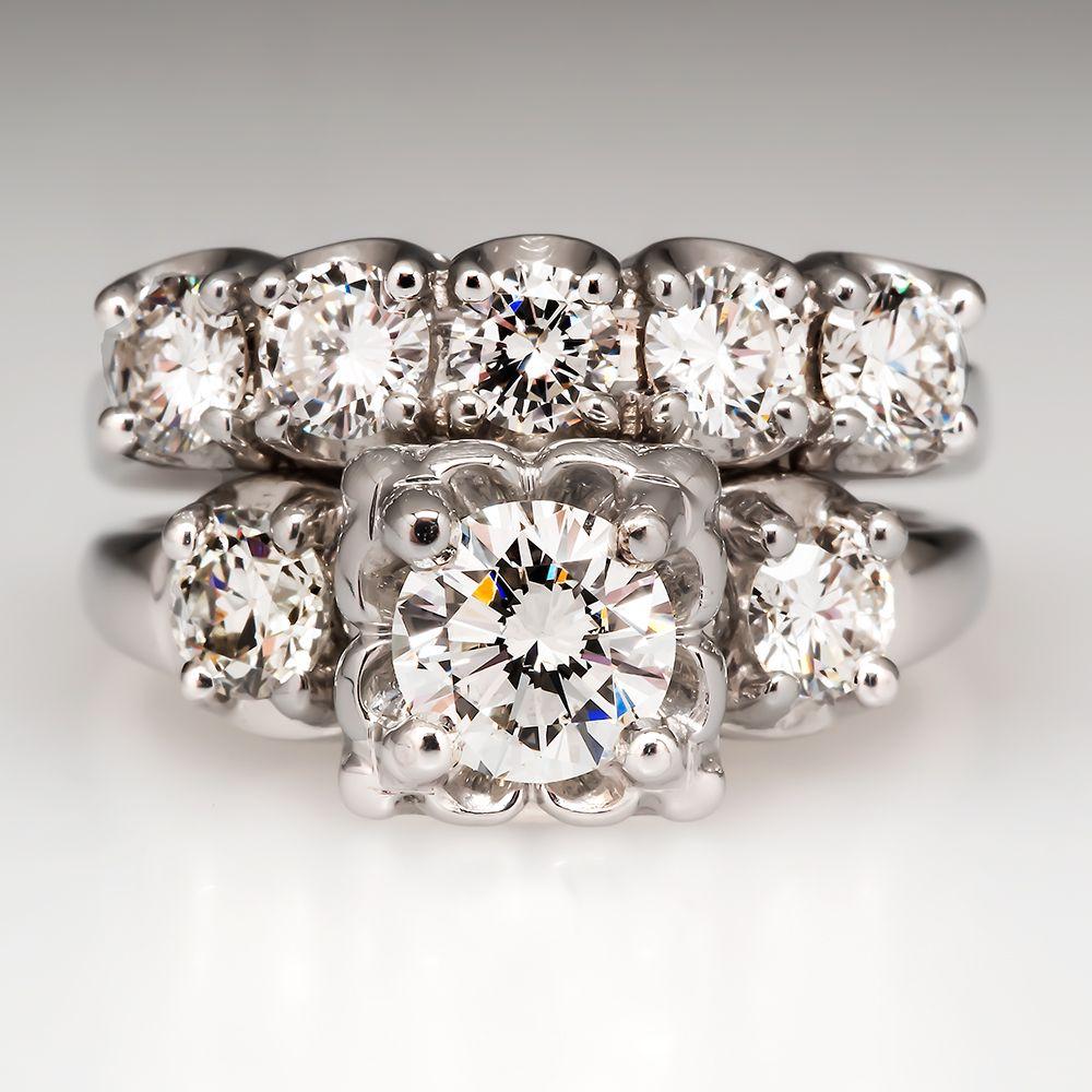 32++ Vintage gold diamond wedding band ideas