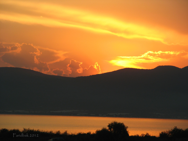 Atardecer mágico a las orillas del Lago de Chapala