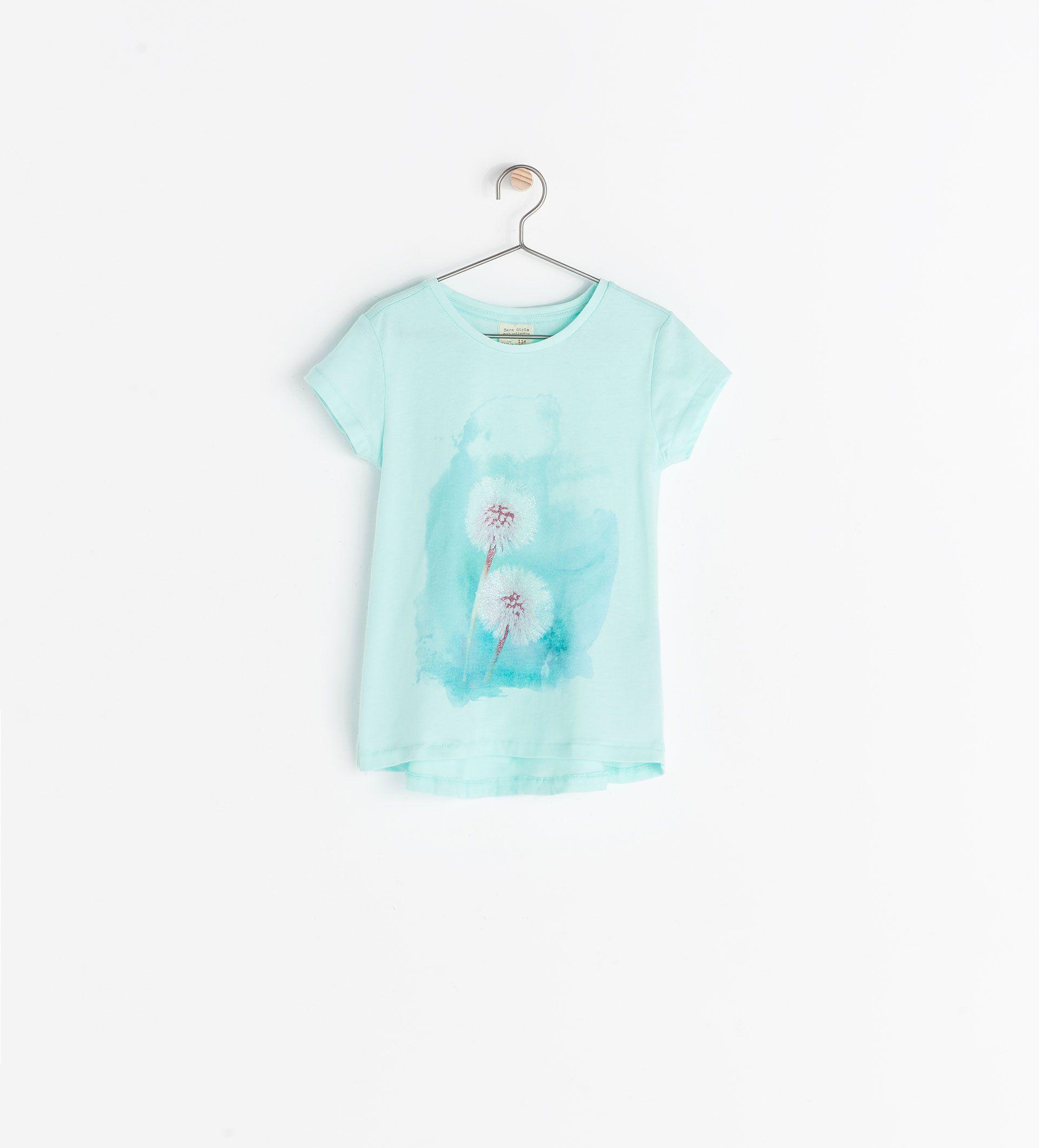 Aqua T-shirt, Zara Kids