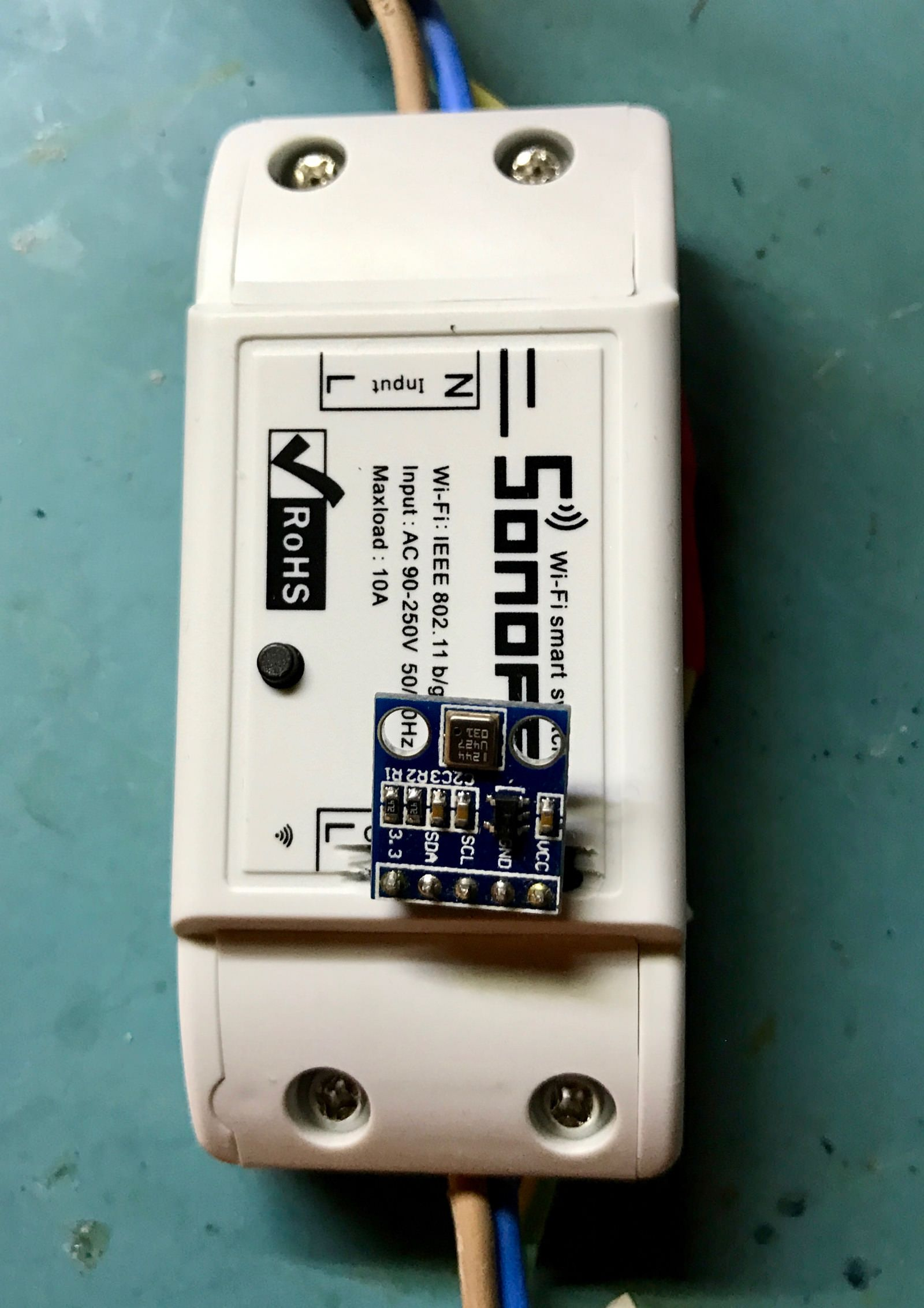 Sonoff WiFi Smart Switch With I2C Port – JackenHack | Home