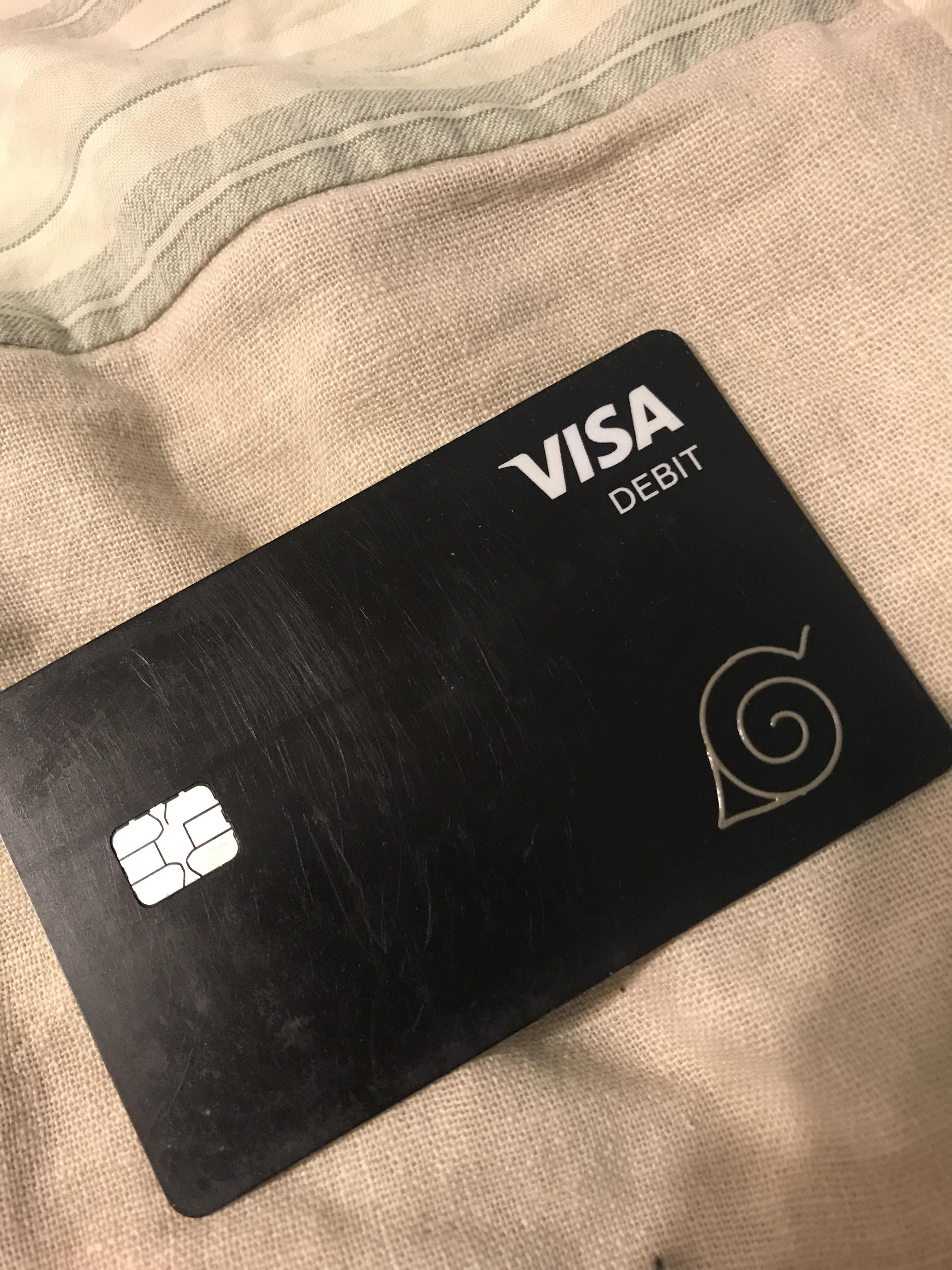 My cash app card from the hidden leaf village naruto