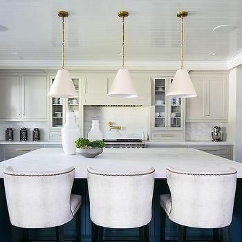 Barrel Back Counter Stools Design Ideas Kitchen Design