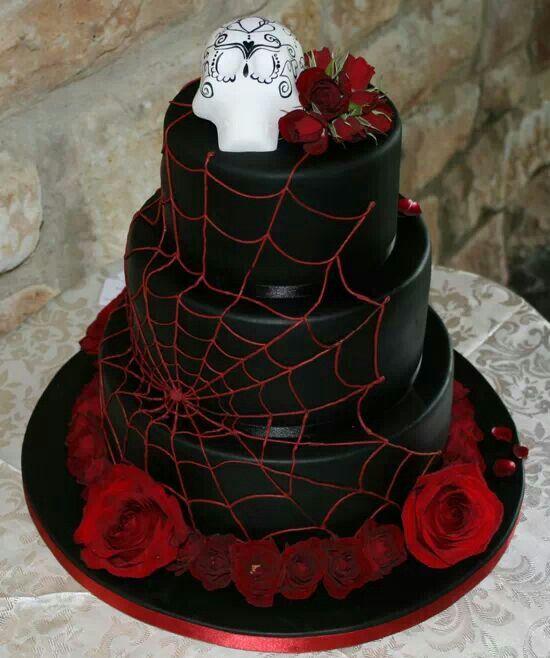 Vampire Cake Day Of The Dead Cake Halloween Wedding Cakes