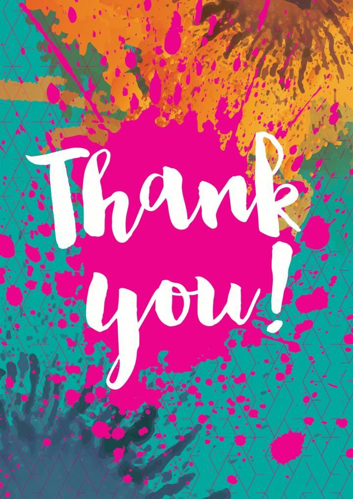An Awesome Thank You Card From Soula Zavacopoulos Thank You