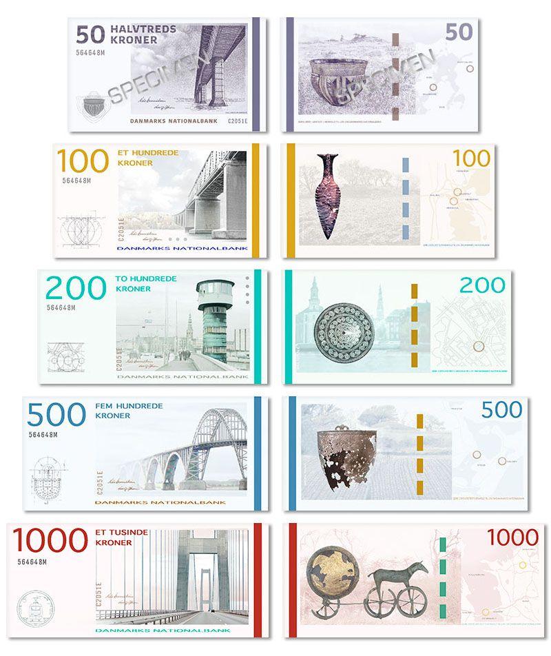 Http Lravn Dk Norden Danmark Nye Danske Pengesedler Nationalbanken Jpg Currency Design Banknotes Design Money Design