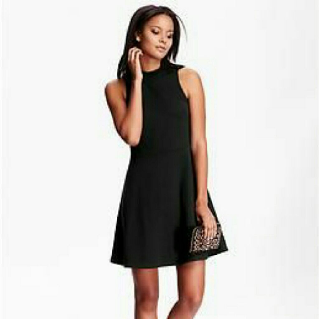 Simple black skater style tank dress skater style and products